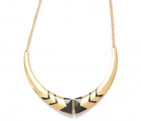 Gold egyptian bib st..